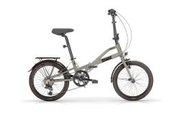 Bici pieghevole Alluminio Metrò Mbm verde militare