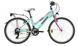 """Bici Ragazza Panarea City 24"""" Alluminio 18V Lombardo"""