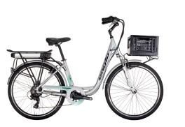 """E-bike Donna E-Move 26"""" 7V Alluminio Eagle Tecnobike"""