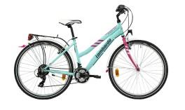 """bicicletta Donna Panarea City 100 26"""" Alluminio 21V Lombardo"""
