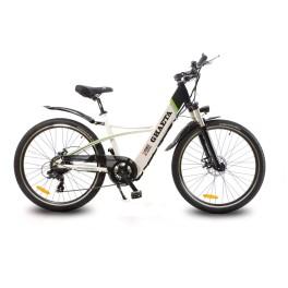 Bici elettrica passeggio donna Ghaeta DME bianco