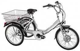 Electric Tricycle Adults 24'' 6S Ansmann Cicli Casadei