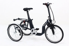 Anthracite folding adult tricycle by blasi