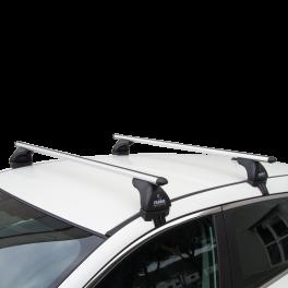 Barre Auto alluminio  tetto liscio Aluviva 6