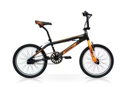 Bikes Bmx Reaction Ragazzo Alluminio Speedcross Nero/Arancio
