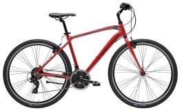 bicicletta uomo Hybrid Cicli Adriatica color rosso