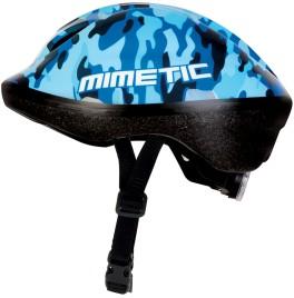 Casco bimbo con luce posteriore mimetic Bellelli azzurro militare