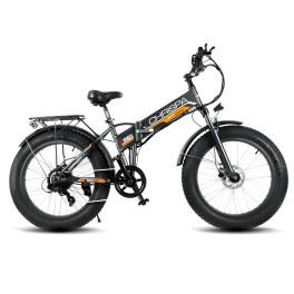 Fat Bike elettrica pieghevole Chrispa DME Grigio