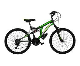 Mtb Full suspention CL26 Colorado Cicli Casadei Titanio/Verde