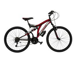 Mtb Full suspention CL26 Colorado Cicli Casadei Nero/Rosso