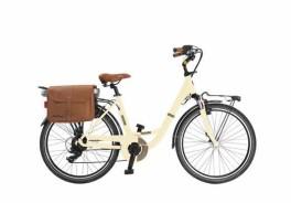 "Bicicletta Elettrica VVE62 Classic Lady 26"" 6V Bafang Via Veneto"