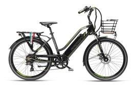 Bici elettrica Cortina Armony nero/grigio