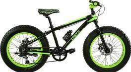 Boy's Fat Bike 20'' crow Cicli Casadei black/green