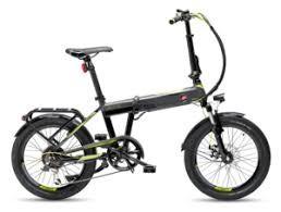 """Bicicletta Elettrica Pieghevole Virtus FD 301 20"""" 6V Garelli"""