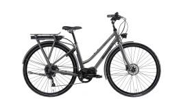 bici elettrica donna e-spillo bianchi grigio antracite,,