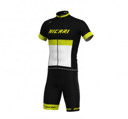 Completo ciclismo estivo Eleven Hicari Giallo