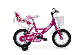 "Bici Bambina Fairy 12''/14"" 1V Acciaio Speedcross Lampone"