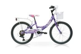 Bici Olanda Ragazza Fairy 20  Acciaio Speedcross Viola
