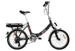 E-bike folding pieghevole Flipper 3 Italwin Nero/Rosso