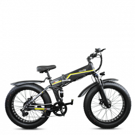 Fat Bike Elettrica Pieghevole Full Suspended Fractum 7V 20'' / 24'' DME