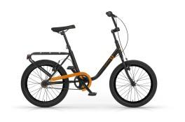 bicicletta F**K-U! mbm nero/arancione