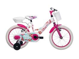 City Bike Girl white