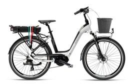 Bicicletta elettrica Jesolo Bianco/Nero