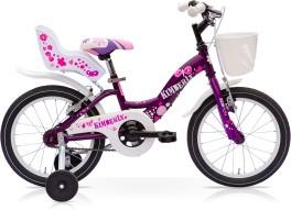 Bici Bambina Kimberly Acciaio Speedcross Viola