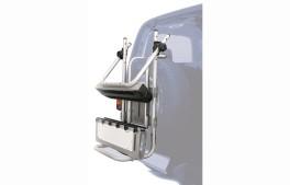 Aluminum ski rack for Stelvio