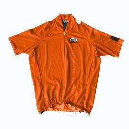 Maglia ciclismo manica corta Platinum Pro Pella arancione