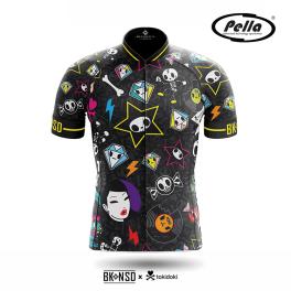 Maglia ciclismo Uomo manica corta Tokidoki Punk  - Pella