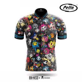 Maglia ciclismo Uomo manica corta Tokidoki Rock- Pella