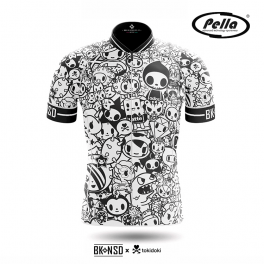 Maglia ciclismo Uomo manica corta Tokidoki Signature - Pella
