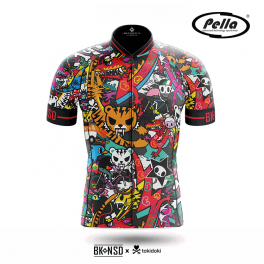 Maglia ciclismo Uomo manica corta Tokidoki Tiger - Pella