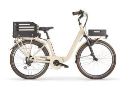 Bicicletta elettrica donna Pulse Donna Crema