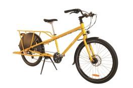 Bicicletta per due bambini Yuba Mundo Lusso Gialla