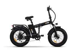 bicicletta elettrica fat bike Nitro the one nero