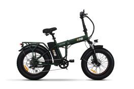 Fat bike elettrica ammortizzata nitro s Verde