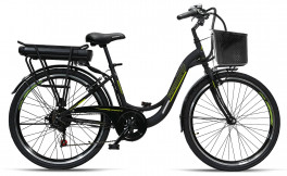 Electric bike Perugia Adv Armony Black