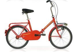 Bicicletta pieghevole 20'' rosso