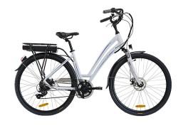 City bike elettrica Prestige Italwin Bianco/Blu