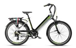 E-bike Riccione Adv Armony argento/nero
