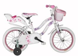 Bicycle Girl Karina RM1D16000 16'' Coppi - White
