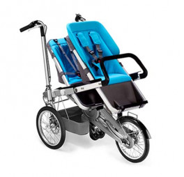 Taga bike doppio seggiolino azzurro