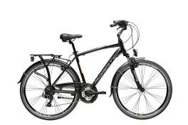 Bici sport Uomo Sity 2 Cicli Adriatica nero