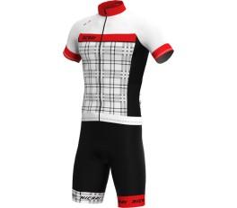 Completo ciclismo six hicari rosso