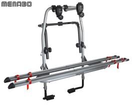Portabici posteriore in acciaio Steel Bike 2 bici Menabò