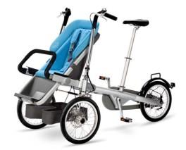 Taga Bike Bicicletta passeggino portabimbi blu