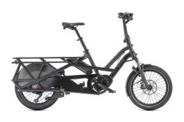 Bici Elettrica Cargo Bike compattabile GSD S10 LR Tern Nero