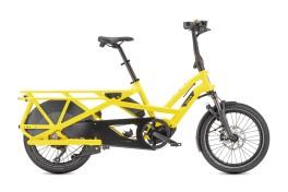 Bici Elettrica Cargo Bike compattabile GSD S10 LR Tern Giallo